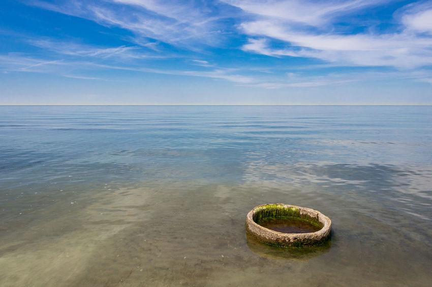 Baltic Sea coast Baltic Sea Holiday Relaxing Weststrand Beach Beton Blue Sky Cloud - Sky Coast Day Fischland-darß-zingst Journey Landscape Nature No People Outdoors Ring Shore Sky Tourism Travel Destinations Vacation Water