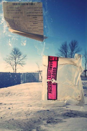 January 9, 2016 QVHoughPhoto FujiFilmX100 Moorhead Minnesota Construction Window Macro Sky