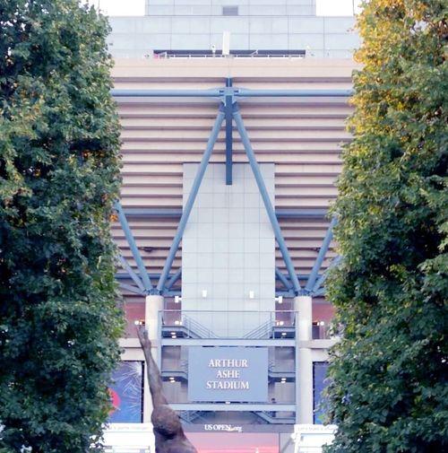 Symmetrical US Open 2014 Arthur Ashe Stadium Tennis