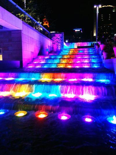 Cincinnati Cities At Night Smartphonephotography Downtown Cincinnati
