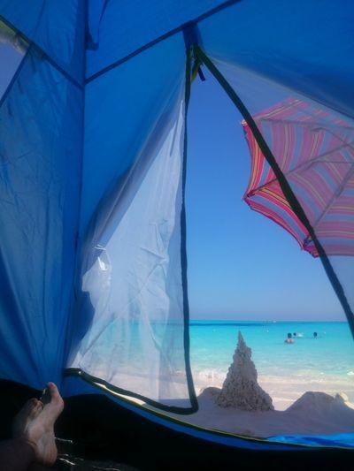 Camping! Blue Sky Blue Sea Sky Skyporn Sea Seaporn Legs