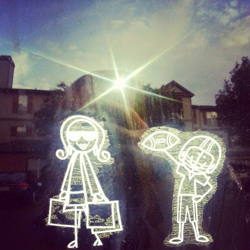 Mami and son! Taking Photos Mother And Son Family Família Car Decals Home I Love My Kid Da Kid Showing Imperfection
