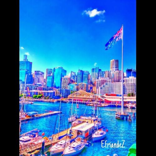 """ Sydey "" original pic by @jhonsoncen --------------------------- Gf_dailystyle Gf_indonesia  Gf_daily Gang_family hdr_indonesia hdrart sydney skylover blue city"