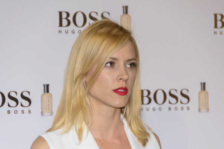 "Madrid, Spain 3rd February 2016. Maggie Civantos, actress, attends the ""Man of Today"" party. The Scottish actor and producer, Gerard Butler, was introduced at a cocktail party as ""Man of Today"" and Ambassador of Boss Bottled fragrances in Madrid, Spain. Celebration Celebrity Fashion Fashion Front View Head And Shoulders Headshot Hugo Boss Lifestyles Long Hair Man Of Today Person Photocall Portrait Real People Vip Young Adult Young Women"