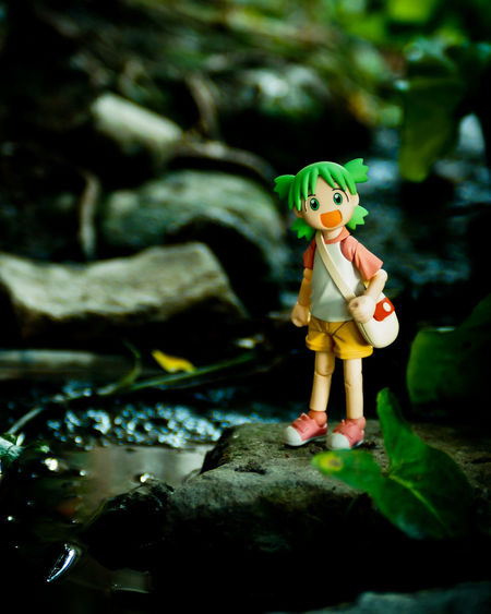 Adventure Childhood Day Nature One Person Outdoors Toy Toyphotography Water Yotsuba
