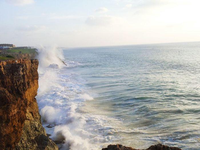 Waves, Ocean, Nature Sea Sundown Rocks And Water Sea And Sky Atlantic Ocean EyeEmNewHere Long Goodbye