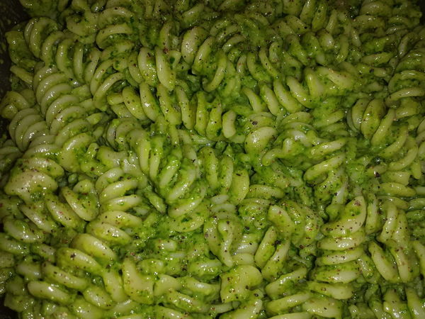 Freshness Fusilli Pasta Pasta Time Pesto Pesto Sauce