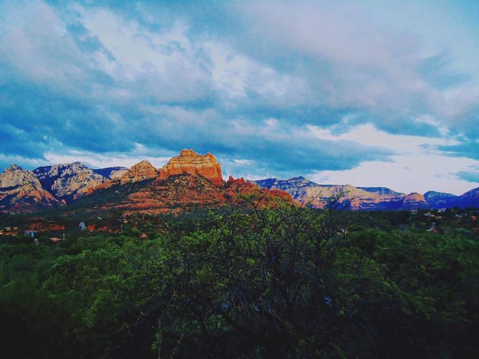 natural beauty of the majestic Sedona, Arizona Beauty In Nature Mountain Travel Destinations Tranquility Sky No People Nature