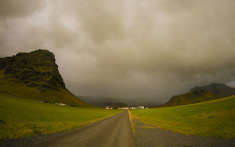 Road Cloud - Sky Sky Beauty In Nature Landscape Mountain Storm Outdoors No People