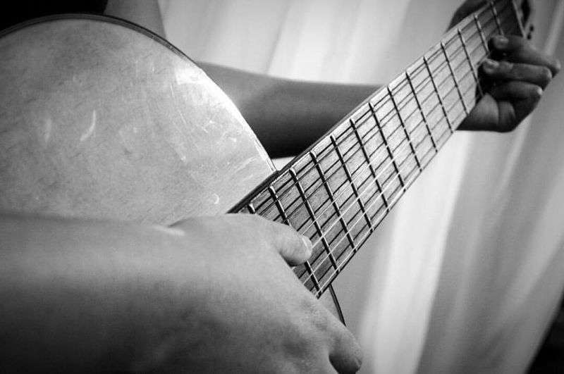 Art Is Everywhere Music Guitar Blackandwhite