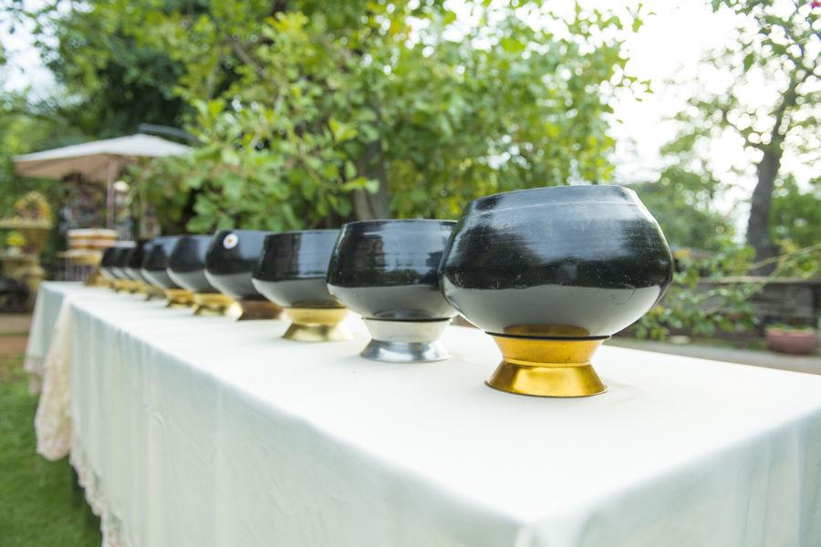 Buddhism Food Monk's Alms Bowl Temple Thai Food Thaiwedding Thaiweddingceremony Wedding Photography
