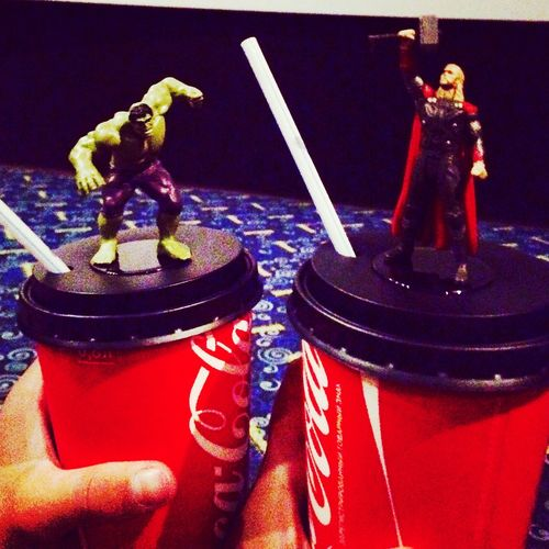 Going To The Movies ✌ Super Junior Very Nice Place Marvel Thor  Hulk