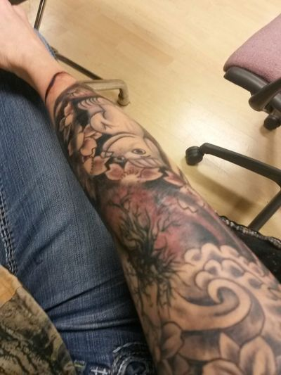 Fresh Tattoo Inkedgirls Ink Addict  Leg Is Next Need A Second Job To Support My Addiction