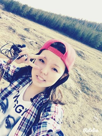 Selfie Nature Forest Cute Hi! Goodday