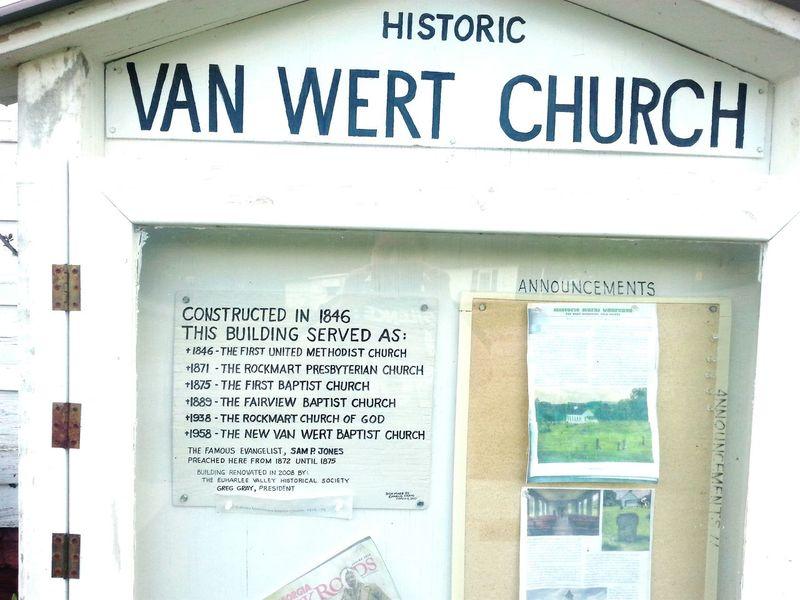 Livin next to a Historical Landmark . Church