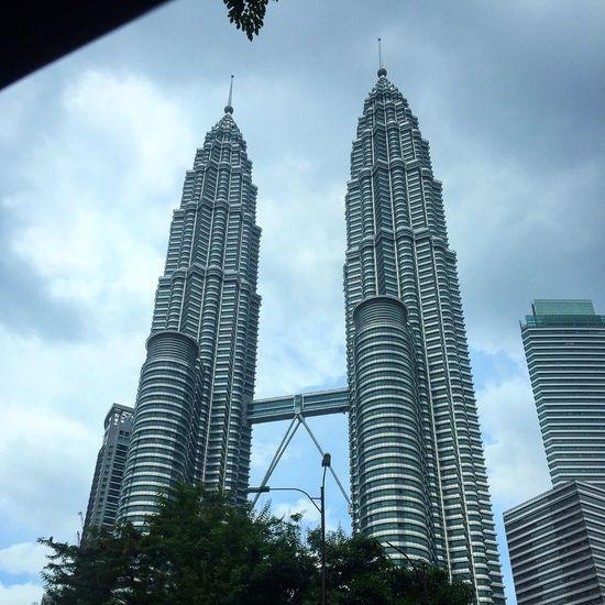 Kualalumpur Malaysia Twintower Malaysia Architecture Building