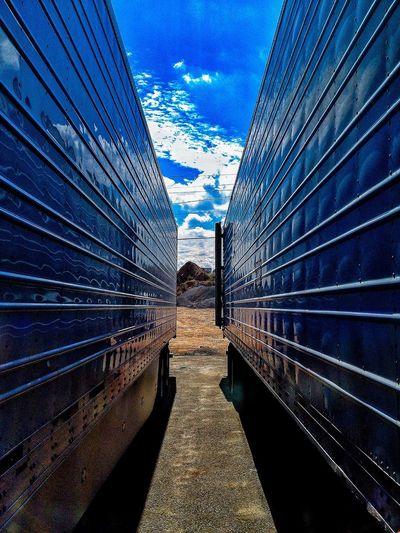 Truck 18 Wheeler Blue Sky