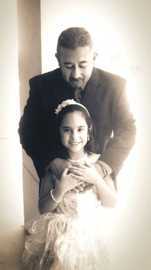 Little Princess Love Father And Daughter
