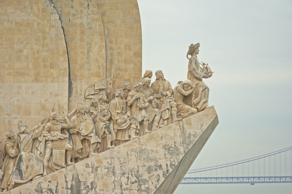 Monument of discoveries, belem, lisbon (Padrão dos Descobrimentos) Art And Craft ArtWork Belém Historical Monuments Architecture Discoveries Discovery Historical History Human Representation Lisbon Monument Sculpture Statue Travel Destinations