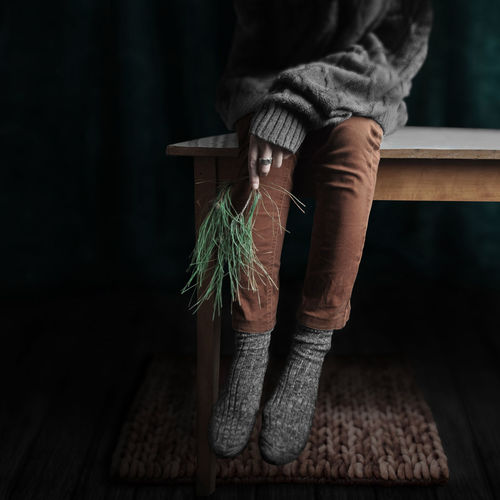 STILL LIFE Adult Close-up Day Freshness Human Body Part Human Hand Indoors  Lifestyles Low Section One Person People Real People Warm Clothing Wood - Material