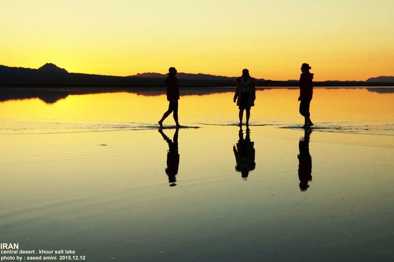 Iran .desert .salt lake khour . Photo by saeed amini
