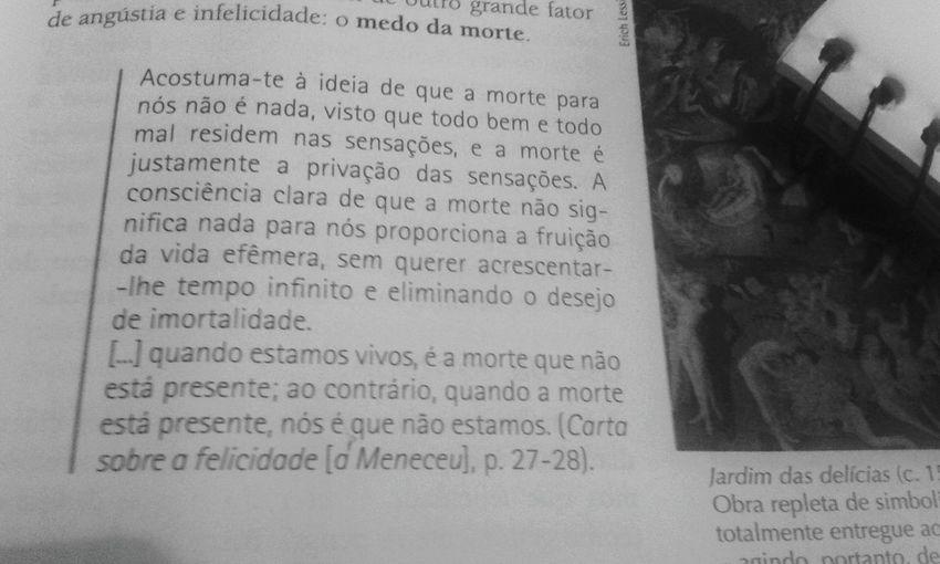 Filosofy Epicuro Felicidade Vida Filosofía