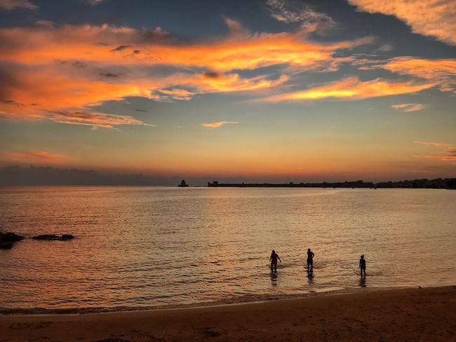 Relaxing Kotronakia Takemetomethoni Greece Methoni Sunsetlover Sunset