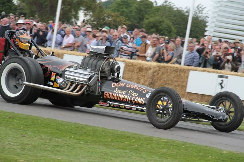 Dragster Racecar GoodWood Goodwood Festival Of Speed 2015