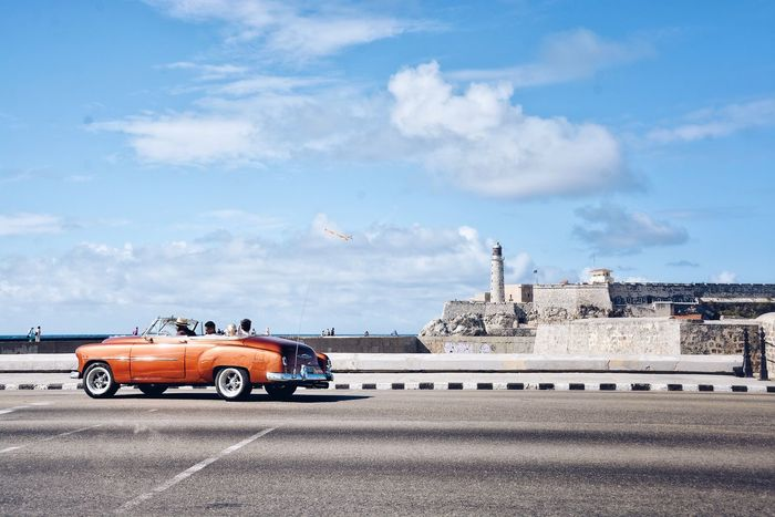 My kind of April Calendar Cover. Cloud - Sky Transportation Car Sky Mode Of Transport Land Vehicle Road Architecture City Havana Cuba Time Vintage Cars Architecture Vintage Chevrolet Chevy The Street Photographer - 2017 EyeEm Awards Been There. Summer Road Tripping