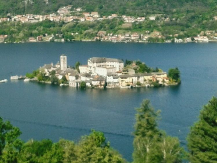 Panoramic View Orta S.Giulio Lago D'Orta Panoramic Photography Sky And Sea Italianeography Landscape Taking Photos Lake Lake View