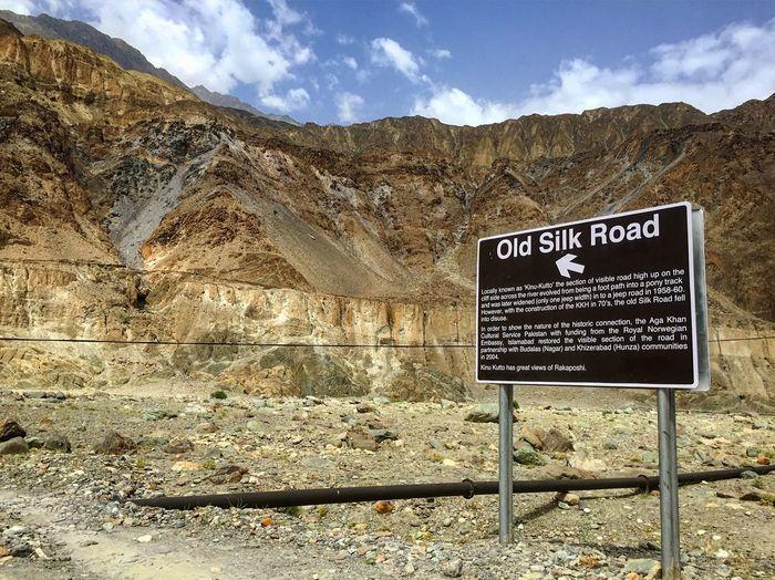 Silk Road Pakistan Traveling Travel Photography Mountains Mountain Mountainrange Mountain Range Mountains And Sky History Historic Historical Monuments