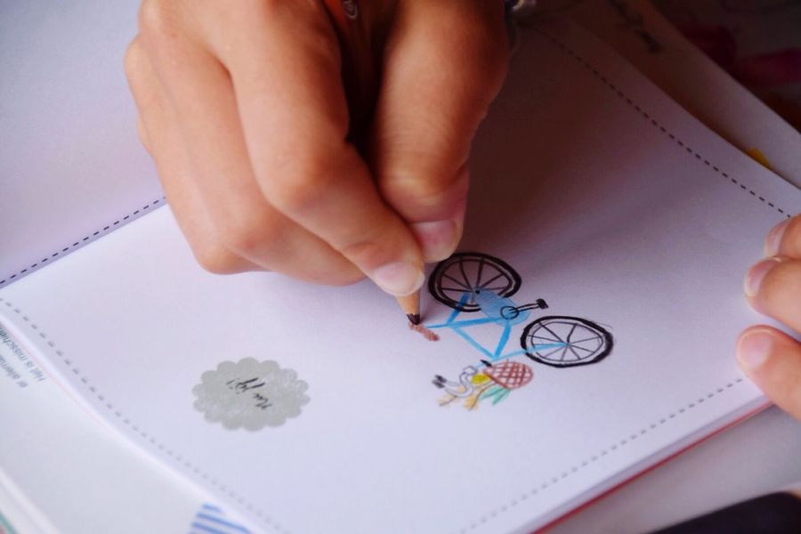 Drawing - Activity Art And Craft Drawing Childhood Child