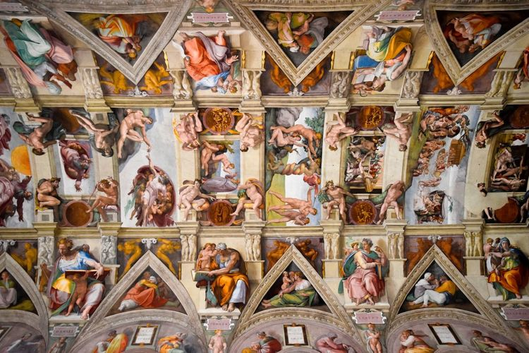 Above Us Abundance Architectural Feature Architecture Architecture_collection Art Church Color Palette Colour Of Life Full Frame Michaelangelo Rome Rome Italy Sistine Chapel  Taking Photos What's On The Roll My Favorite Place