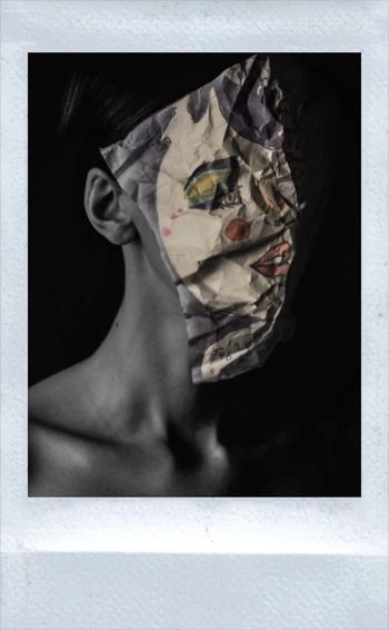 Face On Face Off Surrealism And Fantasy Art Photographic Approximation Geometry Of Physiognomy Free Yourself From Yourself Facial Experiments