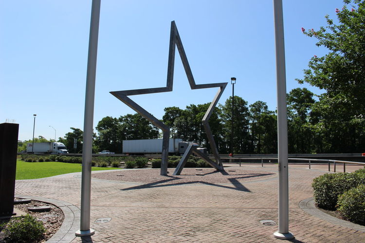 Welcome center in orange texas on i10 Big Star Hot Day Orange Star Star Shadow Texas Welcome Welcomecenter