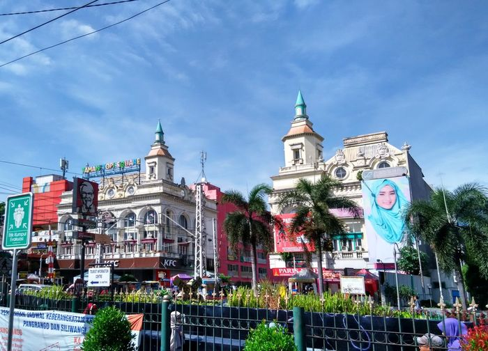 Sky Travel Destinations Architecture Cloud - Sky Building Exterior City Outdoors Business Finance And Industry Tree No People Day Clock Clock Tower Cultures Bogor Taman Topi