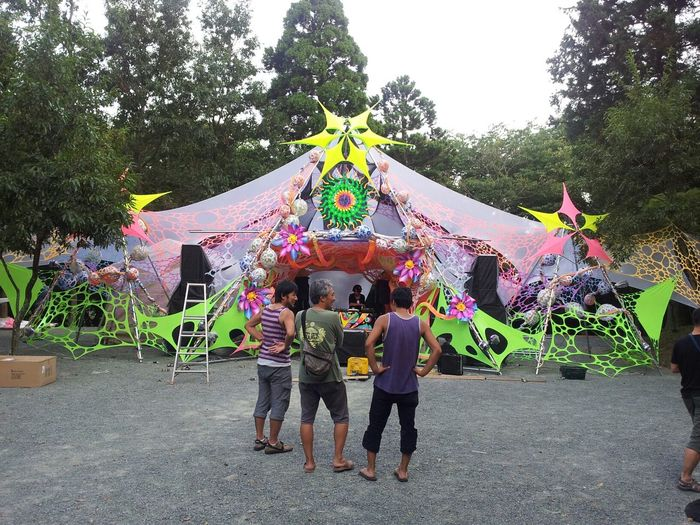 Phycodelic Japan Check This Out Relaxing mandala vision party in japan