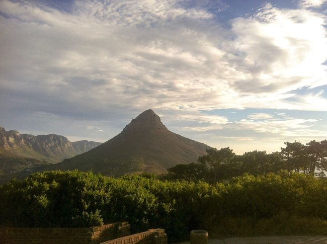 Mountain Tranquil Scene Lions Head South Africa Cape Town Signal Hill Signal Hill - the perfect place for a sundowner