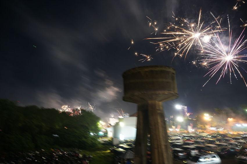 #EyeEm #EyeEmNewHere #Newyear #SonyA6000 #sony EyeEm Best Shots Celebration Firework Motion Night No People Sky