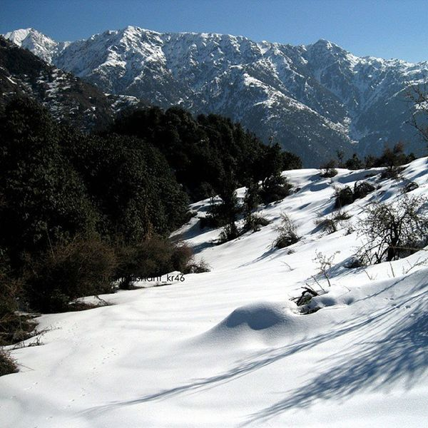 Sun, Snow the Himalayas Mountains and Dhauladhar the edge access from Palampur side Hiking Trekking and Camping on trails and the Caves . Trek but please LeaveYourFootprintsAndNotYourGarbage Canon Nature Landscape Solo in the Wilderness