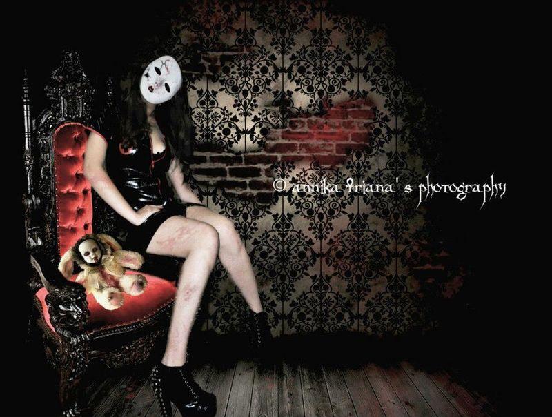 Darkart Doll Horror Spooky