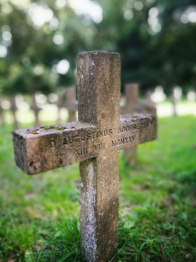 Monk Grave Stone Cross Grave Stone Graveyard Object Photography No People Blurred Background Peaceful Rip Outside EyeEmNewHere
