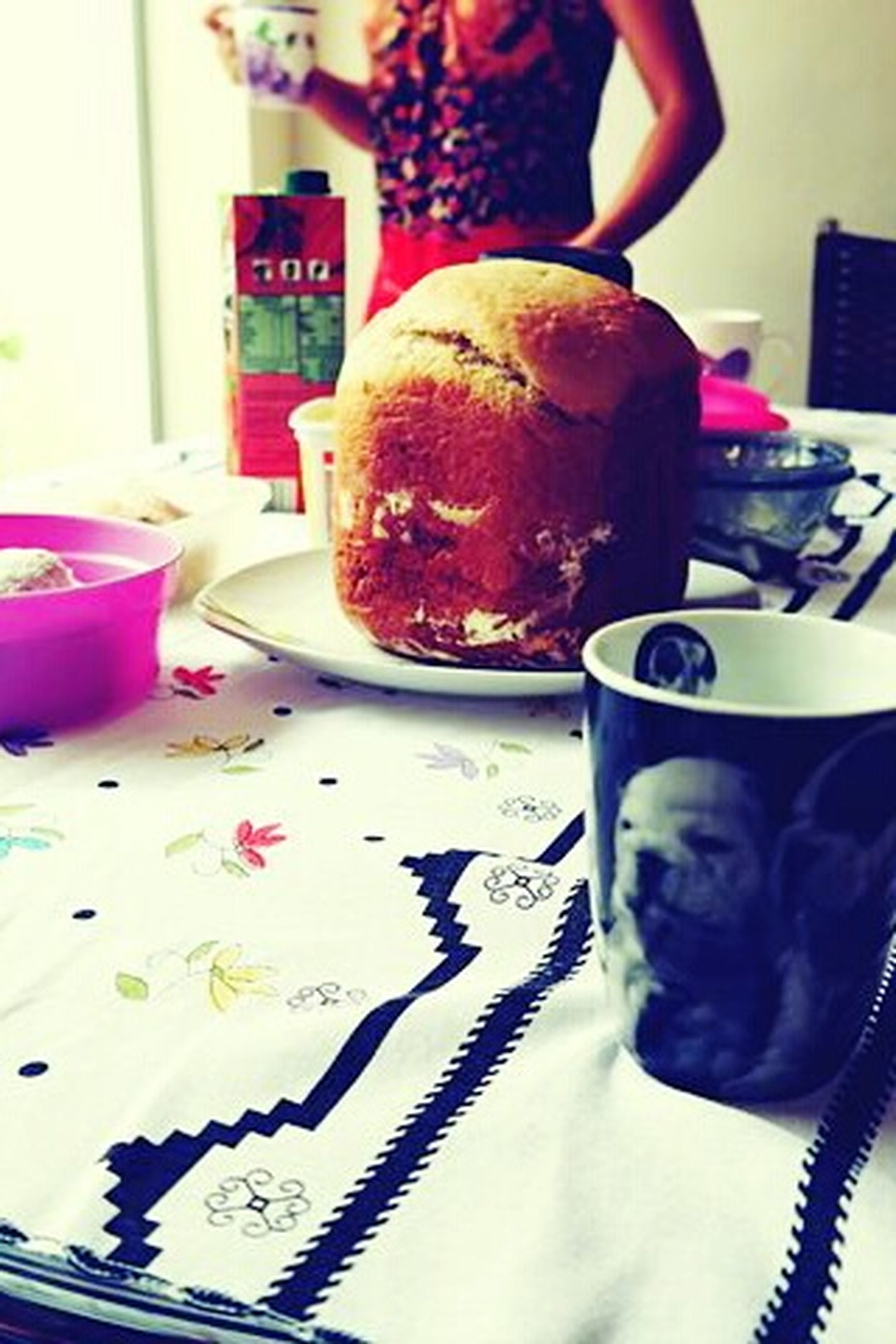 indoors, table, food and drink, home interior, coffee cup, drink, still life, refreshment, book, close-up, food, cup, freshness, coffee - drink, bed, sitting, chair, communication