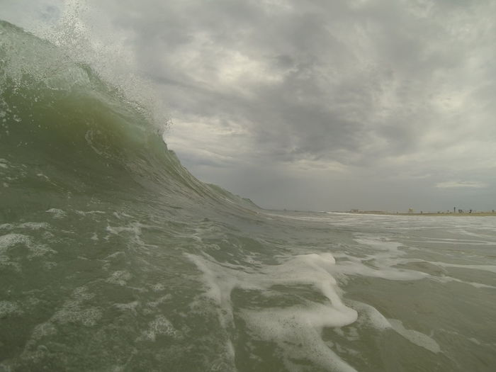 Surf Photography Goproing Cloud Wave