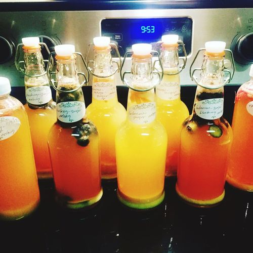 Glass - Material Indoors  Food And Drink Variation Choice Text Food Freshness Drink No People Healthy Eating Day Close-up Ready-to-eat HomeBrewed Kombucha Probioticdrink Healthydrink
