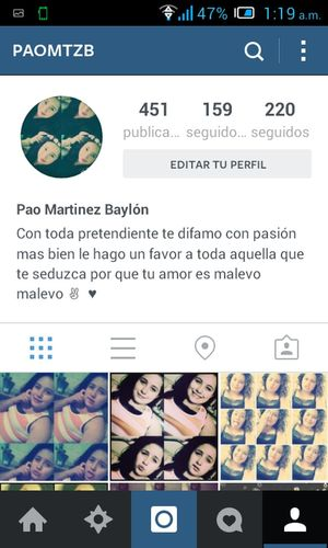 sigueme en instagram ♥