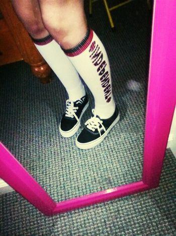 Long Socks#vans