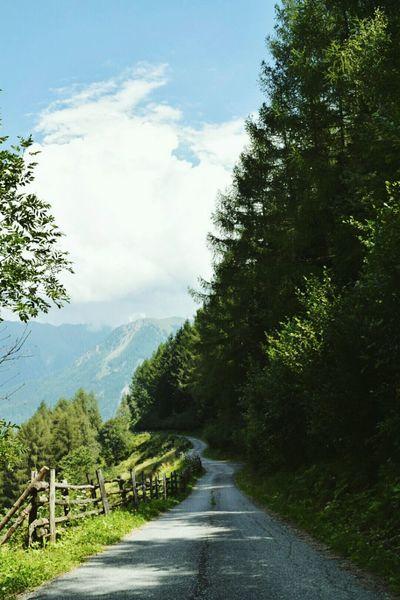 Berge Südtirol Travel Traveling Girl Nature Natur Alone