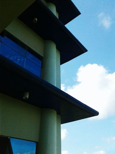 Ustp Ustsp Architecture EngineeringComplex CagayanDeOro Cloud - Sky Sky Low Angle View Outdoors Close-up Day