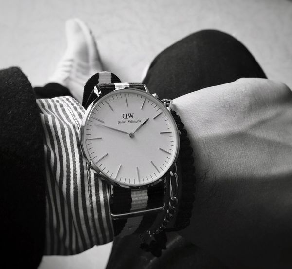 Clock Outfit Outfitoftheday Danielwellington